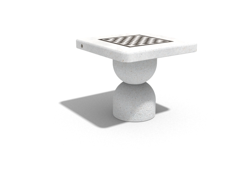 spieltisch schachtisch schachtische spieltische spieltisch aus beton spieltisch f r drau en. Black Bedroom Furniture Sets. Home Design Ideas